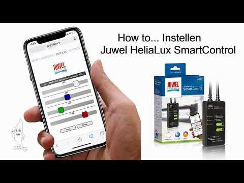Aquaplantsonline - How to... Instellen Juwel HeliaLux SmartControl