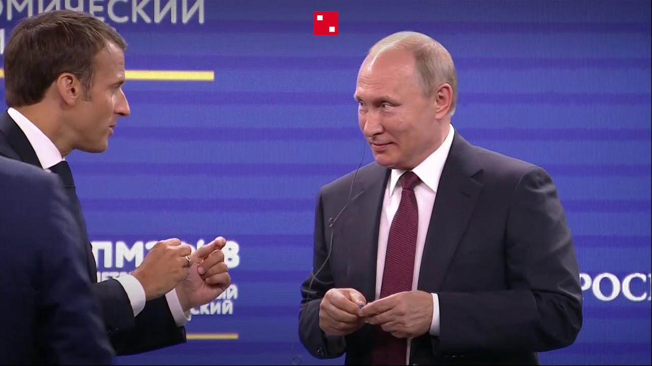 Двуглавый петух на ПМЭФ-2018