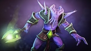 Dota 2 Faceless Void - The Tentacular Timelord set custom animation review