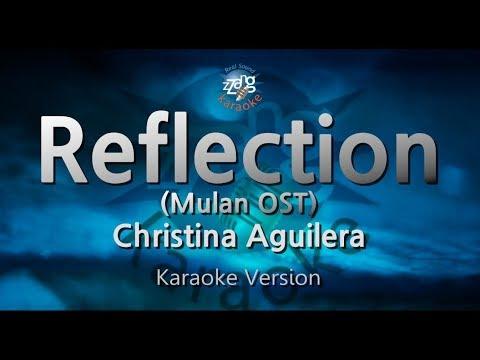 christina-aguilera-reflection-(mulan-ost)-(melody)-(karaoke-version)-[zzang-karaoke]