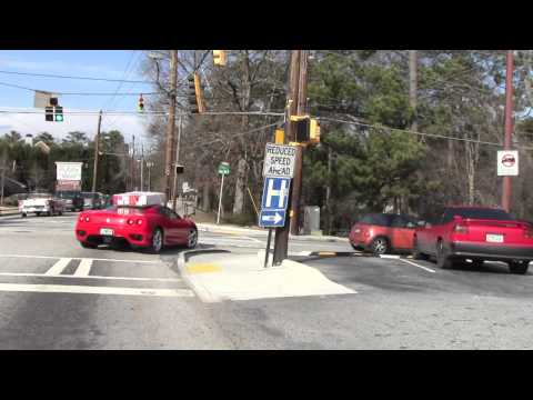 Running Errands in a Ferrari 360 Modena