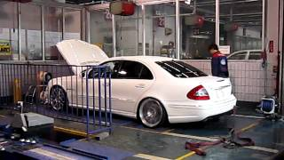 "E55AMG Spec: "" EXe fuctory Tuning "" Power Check"