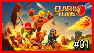 Clash of Clans-Minha vila#01