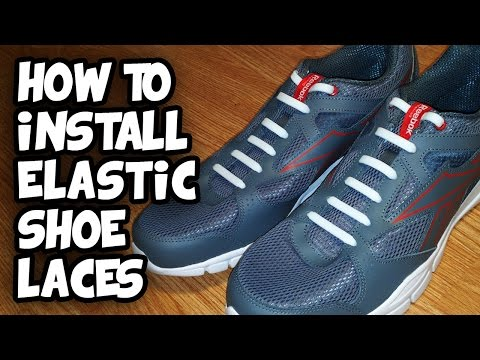 Elastic Shoe Laces – Stretchy No Tie