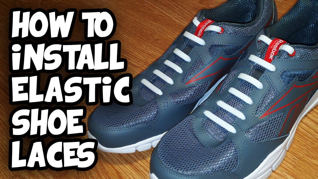 Elastic Shoe Laces - Stretchy No Tie
