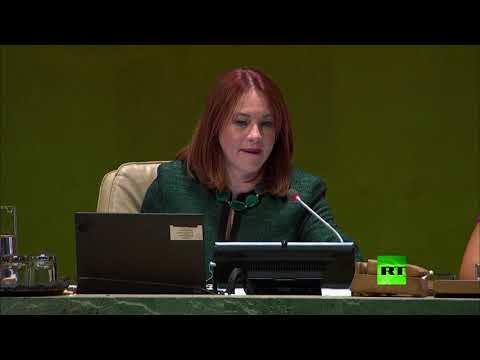 موقف حرج في الأمم المتحدة بسبب الرئيس الأمريكي.. الصمت يسود في الجمعية العامة خلال دقيقتين  - نشر قبل 11 ساعة