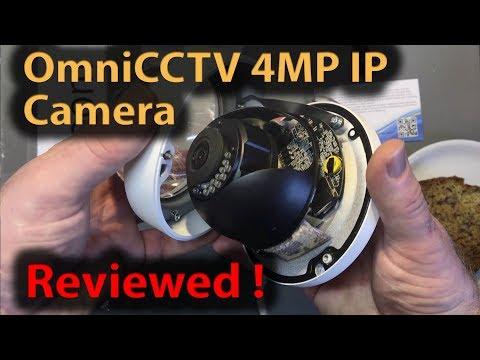 #309 OmniCCTV 4MP POE IP Camera Review