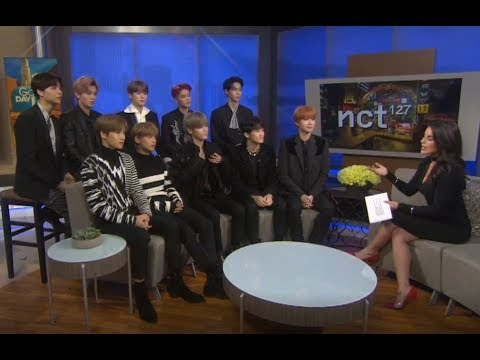 K pop boy band NCT 127 talks about their...