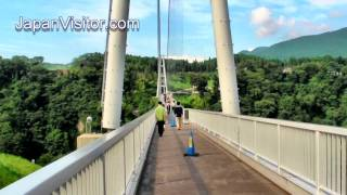 Japan's Longest Suspension Footbridge Kokonoe 九重夢橋