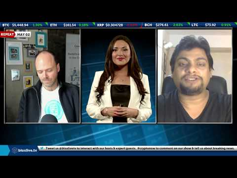 Crypto Now 5-2- Jason Fernandes We are on the march to Bitcoin at $5,500 and beyond  BloxLive TV