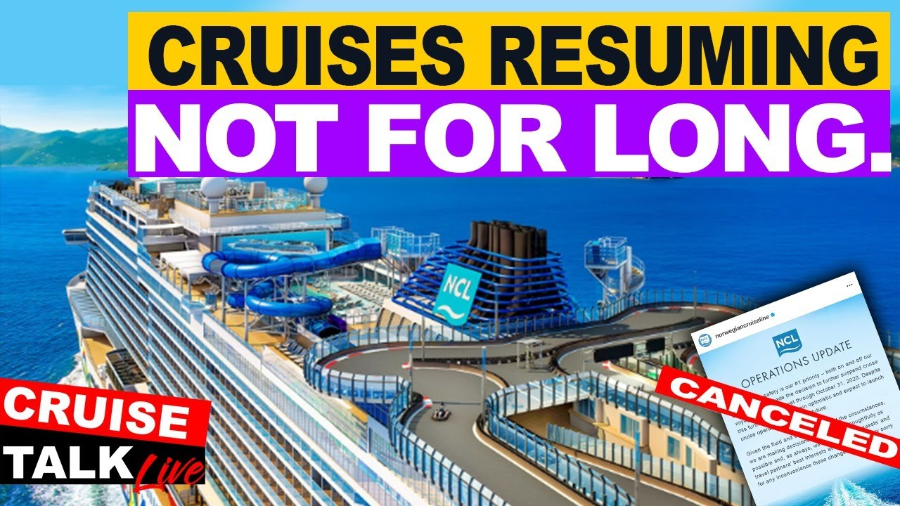🔴CRUISE TALK LIVE! | Cruises Resuming In Europe! | More delays announced in the US! | Will It Last?