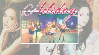 【 Collab】Girls' Generation 소녀시대 'Holiday'   بنات يغنون كوري