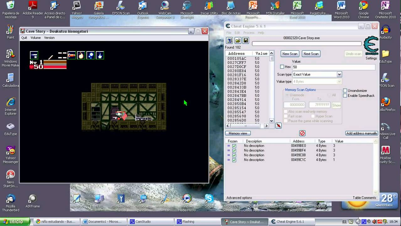 Hey guys, I made a Cave Story+ Cheat Engine table. :: Cave ...