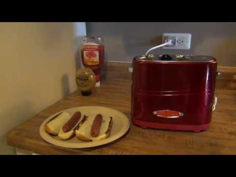 Nostalgia Hot Dog & Bun Toaster Review