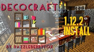 DECOCRAFT 2 MOD 1.12.2 minecraft   how to download and install decocraft 1.12.2 with forge