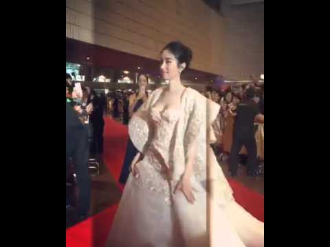 Poyd Treechada at Hongkong film awards 2016