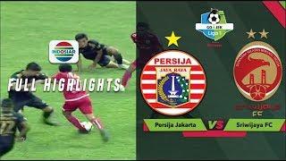 PERSIJA JAKARTA 3 vs 2 SRIWIJAYA FC - Highlights | Go-Jek Liga 1 bersama Bukalapak