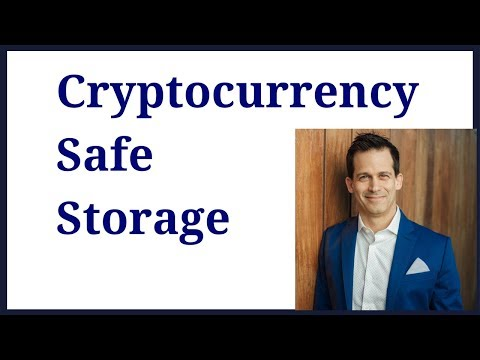 Safe storage for cryptocurerncy like bitcoin .   Don't lose your private key,.