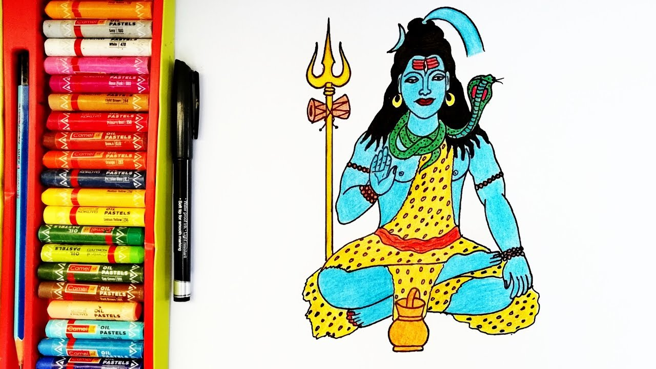How To Draw Lord Shiva Easily Lord Shiva Drawing By Drawing Art Youtube In this drawing tutorial we'll show you how to draw a cartoon mouse in many easy stages. how to draw lord shiva easily lord shiva drawing by drawing art