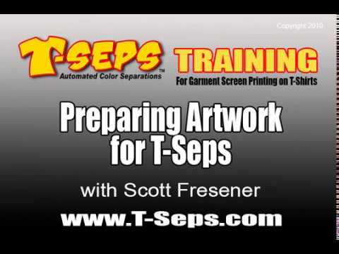 T-Seps Preparing Artwork