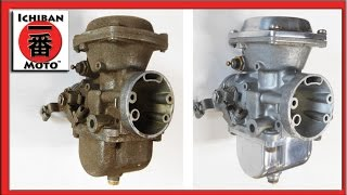 how to make a diy  soda blaster for motorcycle carburetor injector and throttle body cleaning
