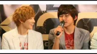 100621 U-Kiss Interview in Singapore Part 2/3