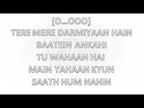 Tere Mere Karaoke With Lyrics |Chef| High Quality Karaoke|