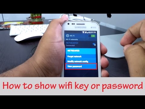 How To Show WiFi Key Or Password