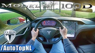 2019 Tesla Model S 100D POV Test Drive by AutoTopNL