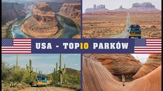 USA - 10 najpiękniejszych PARKÓW
