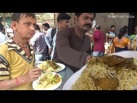 Delicious Tasty Kolkata Chicken Biryani | Who Want to Eat | Street Food Online