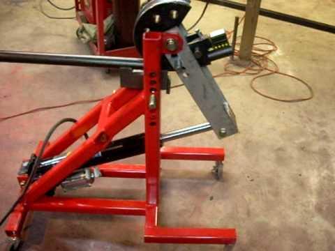 Xtreme Cartz Custom Built Air Hydraulic Tubing Bender Youtube