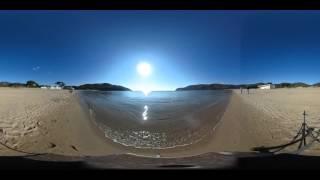 La spiaggia di Lacona a Capoliveri Isola d'Elba (video 360°)