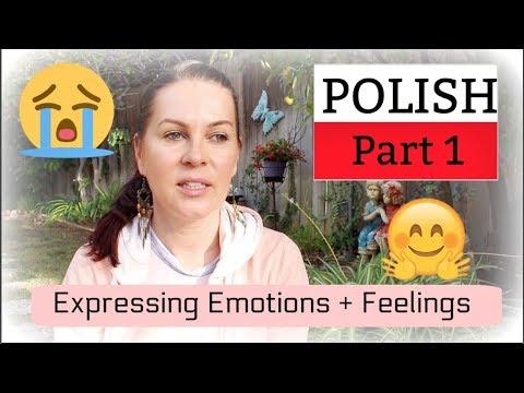 POLISH // EXPRESSING EMOTIONS + FEELINGS // PART 1