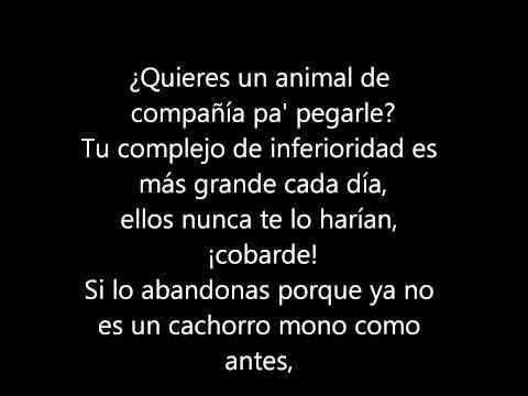 porta-animales racionales (letra)