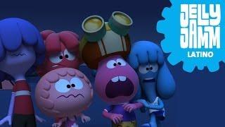 Caricaturas Jelly Jamm español latino. Cuentos de miedo (T0...