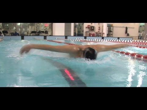 Swimming: Virtual Trainer Pace Light Demo (Rough Draft)