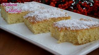 İrmikli 3 dakika tatlısı tarifi - Şerbeti kaynatılmayan irmik tatlısı - Şerbetli tatlı tarifleri
