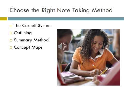 Note Taking Options PowerPoint