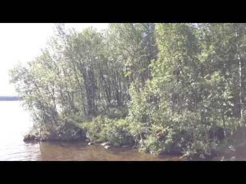 Турбаза Лесная Мурманская область Тулома видео