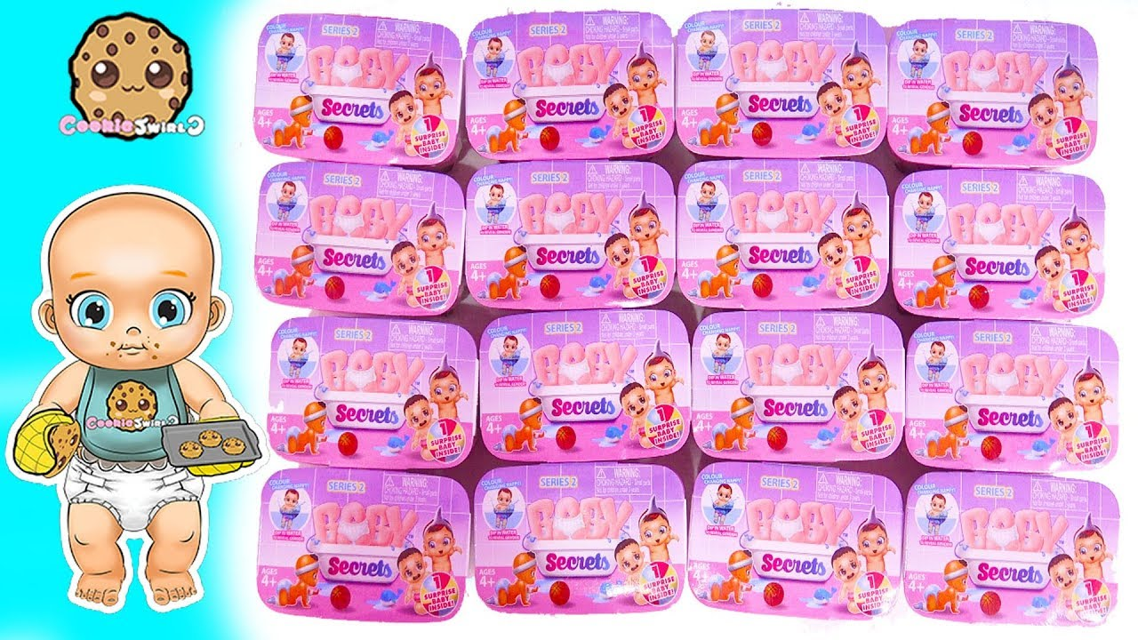 Baby Cookie Swirl C Baby Secrets Color Changing