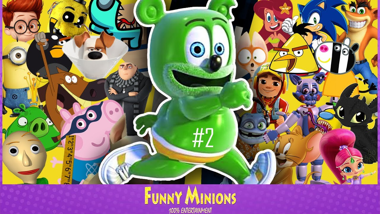 Gummy Bear Song (Movies, Games and Series COVER) feat. Baldi's Basics