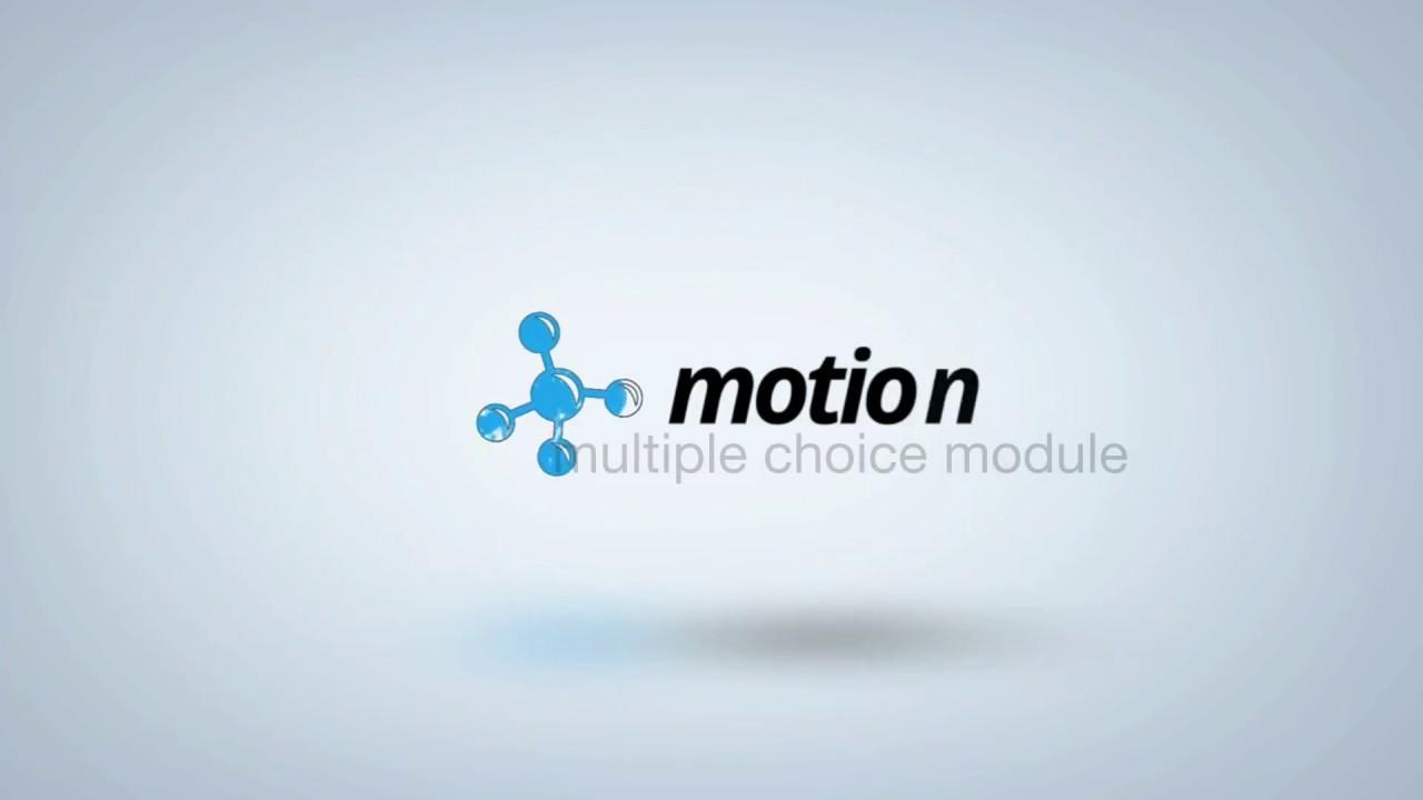 Motion AI Multiple Choice Module Tutorial