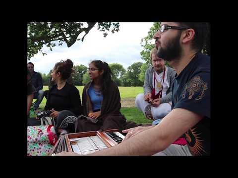 Mantra Therapy LIVE Kirtan Mantra Jam Outdoors - London UK