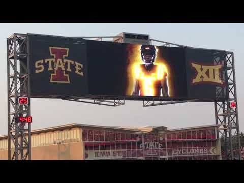2017 Iowa State Cyclones Entrance