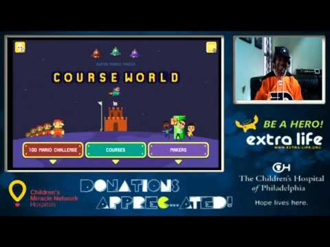 Super Mario Maker Charity Stream For Children's Hospital of Philadelphia (9-22-15 / Part 1)