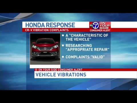 Owners of best-selling 2015 Honda CR-V complain of vibration problems
