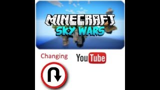 Making a change with thumbnails | Minecraft Skywars