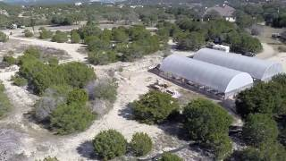 commercial aquaponics flyover drone footage of 8 yr old succesful farm