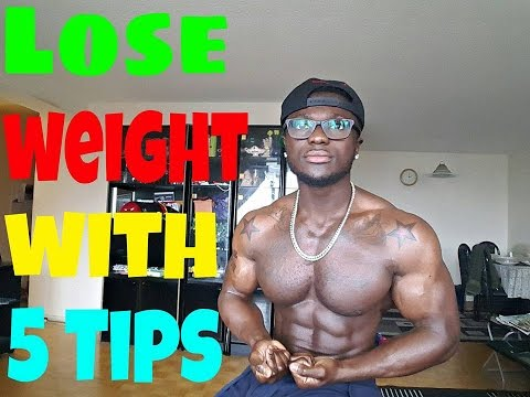 How to Lose Weight Fast And Easy - 5 Tips
